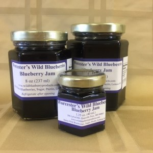 Maine Blueberry Jam - Worcester's Wild Blueberries